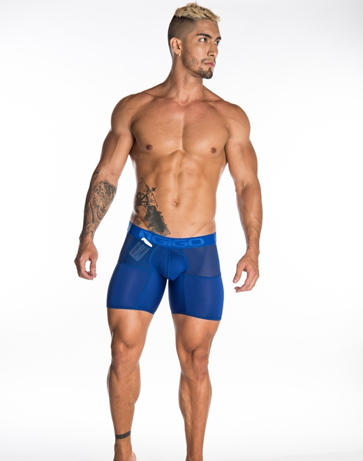 Bokserki męskie Gigo - Active Fresh Blue niebieskie